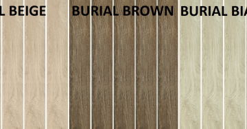 zdjęcie floor tiles wood-like gres porcelain 16/100 cm burial beige ,brown ,bianco paradyż